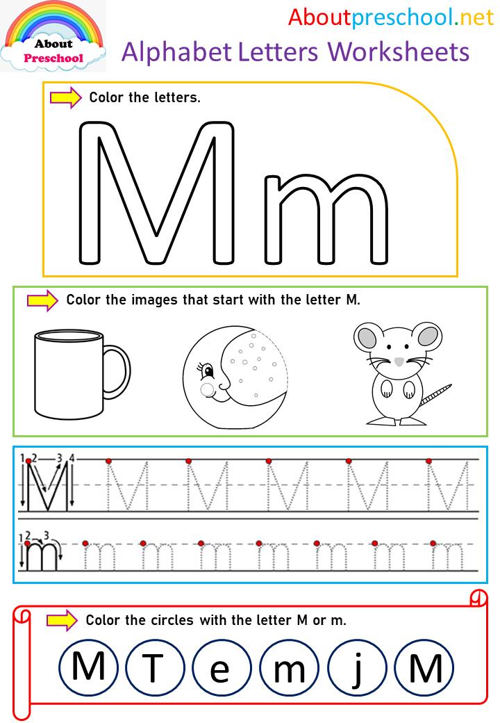 Alphabet Letters Worksheets