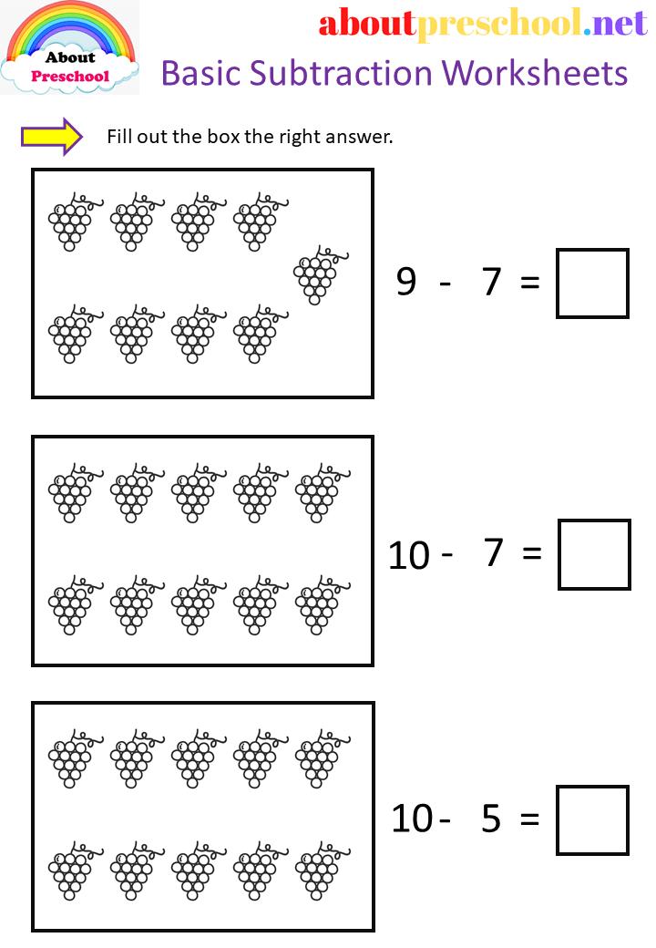 Basic Subtraction.